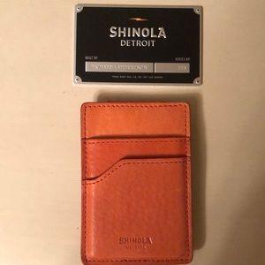 Shinola Magnetic Money Clip Card